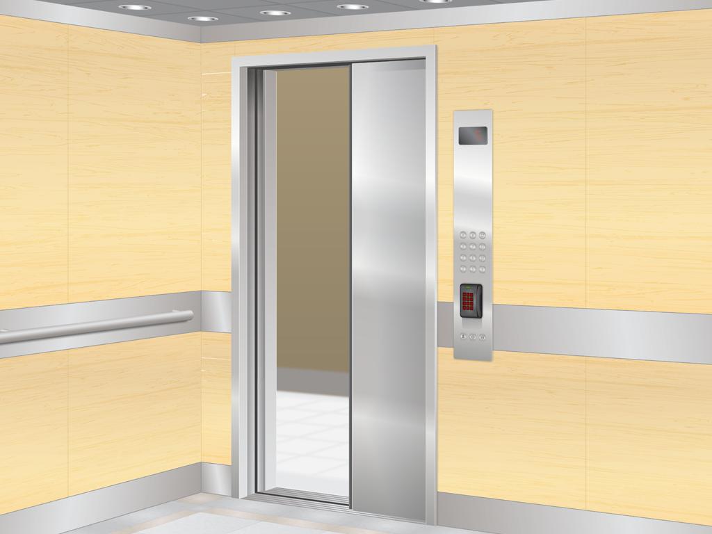 Allegion | Elevator Security System Illustration