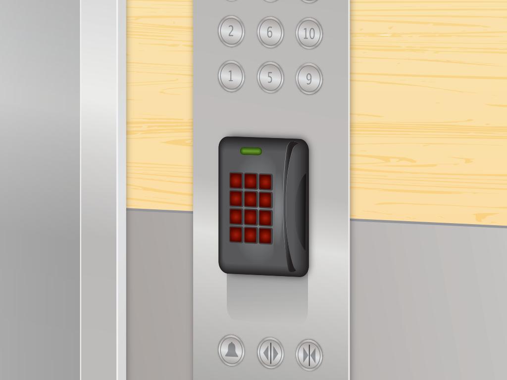 Allegion | Elevator Illustration Detail