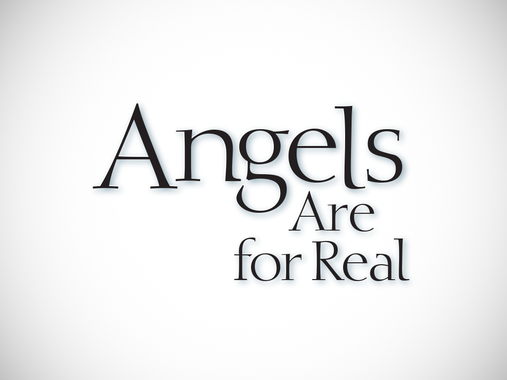 Logo For The Book Angels Are For Real.